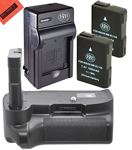 battery and charger kit for nikon d3100 d3200 d3300. Black Bedroom Furniture Sets. Home Design Ideas