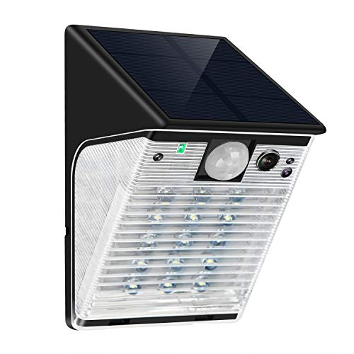 ENSTER Solar Battery Powered Security Camera with Motion ...